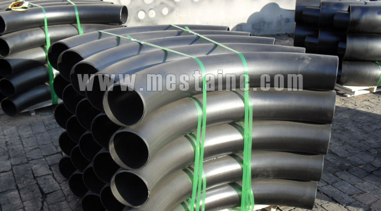 manufacturer and suppliers of 90° Pipe Bend, ASTM A234 WPB, 12 Inch